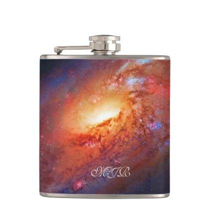 Monogram, M106 Spiral Galaxy, Canes Venatici Flasks