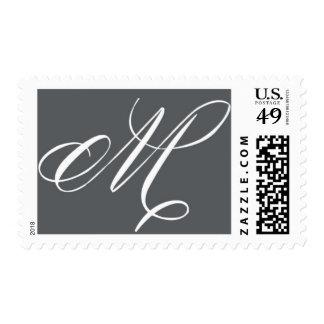 Monogram M 4 by Ceci New York Stamp