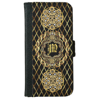Monogram M IMPORTANT Read About Design Wallet Phone Case For iPhone 6/6s