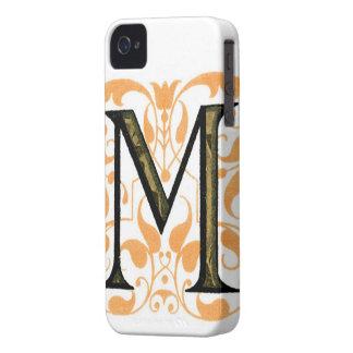 Monogram M iPhone 4 Case