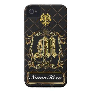 Monogram M iphone Case Mate Please View Notes iPhone 4 Case