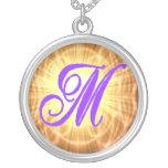 Monogram M Necklace