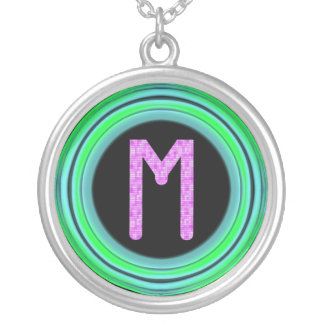 "Monogram ""M"" Necklace"