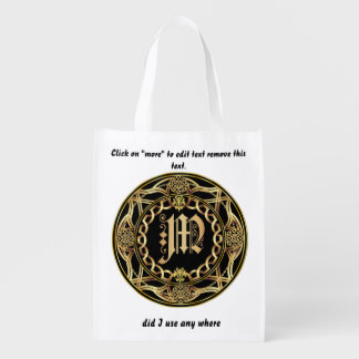 Monogram M Shopping Bag
