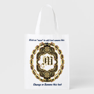 Monogram M Shopping Bag Reusable