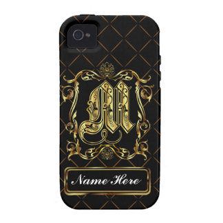 Monogram M Vibe Important View Notes Please iPhone 4/4S Covers