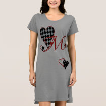 Monogram M Women's T-Shirt Dress