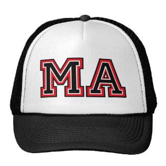 Monogram 'MA' initials Trucker Hat
