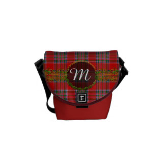 Monogram MacBean Tartan Messenger Bag