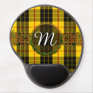 Monogram MacLeod Tartan Gel Mouse Pad