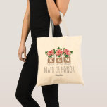 """Monogram Maid of Honor 