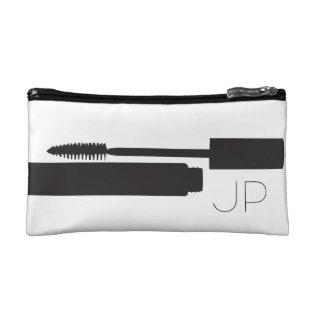Monogram Mascara Graphic Cosmetic Bag at Zazzle