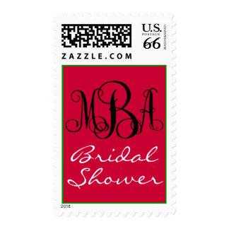 Monogram MBA Postage Stamps