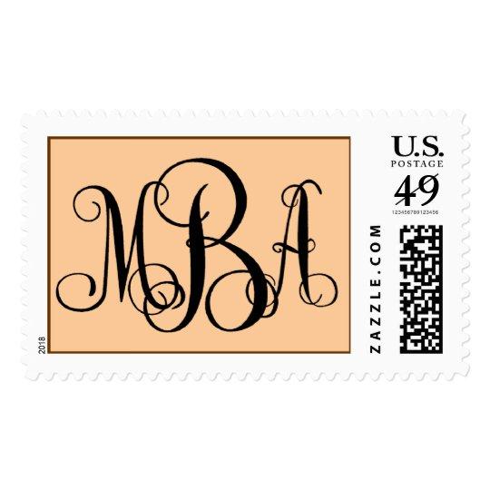 Monogram MBA Postage