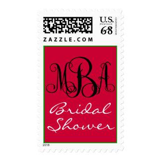 Monogram MBA Stamp