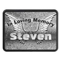 Monogram Memorial | In Loving Memory Tow Hitch Cover