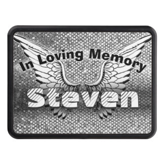 Monogram Memorial | In Loving Memory Tow Hitch Cover