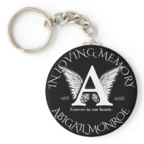 Monogram | Memorial Keychain