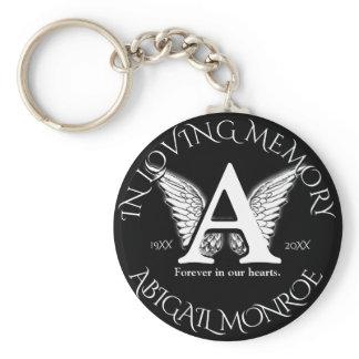 Monogram | Memorial Keychain