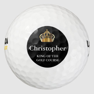 Monogram Men's Golf Balls