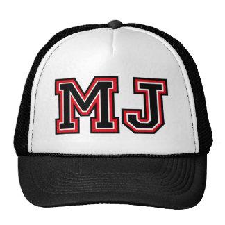 Monogram 'MJ' Trucker Hat