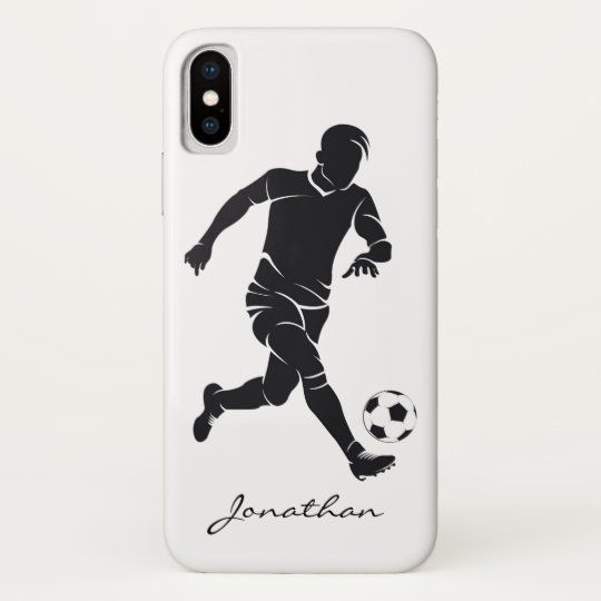 hot sale online 59e61 00ddd Monogram Modern Football Soccer Player Sports Case-Mate iPhone Case
