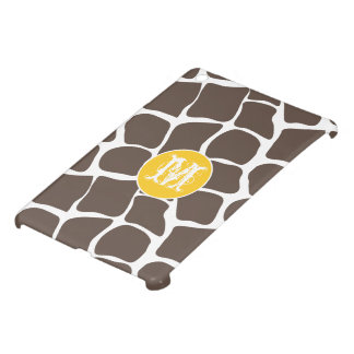 Monogram Modern Giraffe Pattern iPad Mini Case