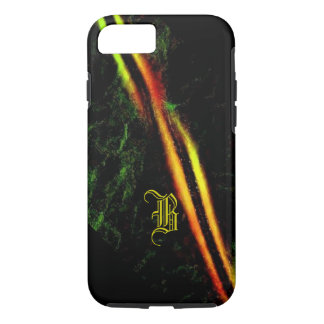 Monogram Mosaic Design iPhone covers