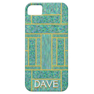 Monogram Mother of Pearl Inlay iPhone 5 Case
