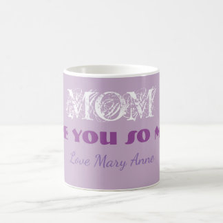 Monogram Mother's Day Coffee Tea Beverage Mug