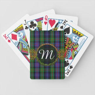 Monogram Murray Tartan Bicycle Playing Cards