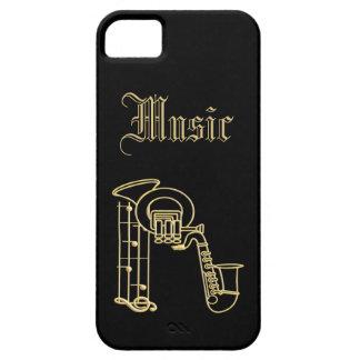Monogram - Musical Instruments iPhone 5 Case