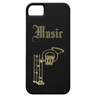 Monogram - Musical Instruments iPhone 5 Covers