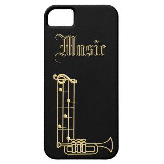 Monogram - Musical Instruments iPhone SE/5/5s Case