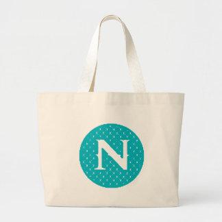 Monogram N Jumbo Tote Bag