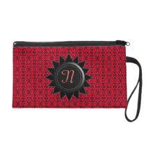 Monogram N Customizable Bagetttes Wristlet Bag