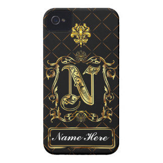 Monogram N iphone Case Mate Please View Notes Case-Mate iPhone 4 Case