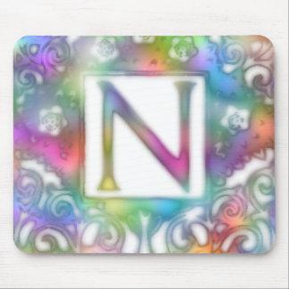 Monogram N Mouse Pad