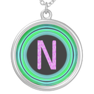 "Monogram ""N"" Necklaces"