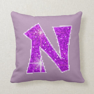 Monogram N Pillows