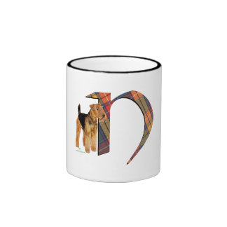Monogram N Ringer Mug