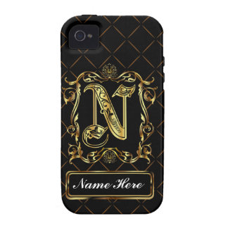 Monogram N Vibe Important View Notes Please Vibe iPhone 4 Cover
