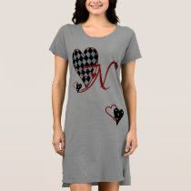 Monogram N Women's T-Shirt Dress