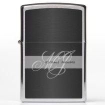 Monogram & Name Design Pattern Zippo Lighter