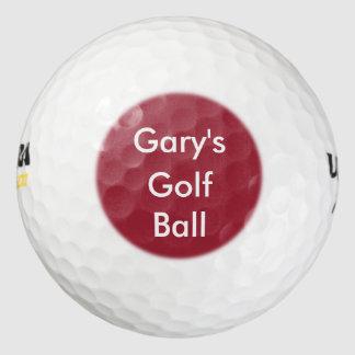 Monogram Name Drop Golf Balls