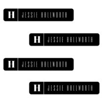 Monogram & Name Modern | Iron-on Clothing Labels