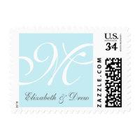 Monogram & Names Stamp: FULLY COSTOMIZABLE Postage