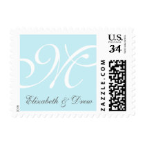 Monogram & Names Stamp: FULLY COSTOMIZABLE Postage