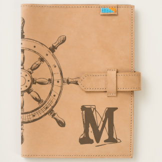 Monogram. Nautical. Plain & Simple. Journal