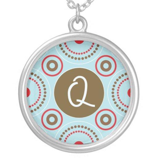 Monogram Necklace - Letter Q